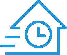 Fast construction icon