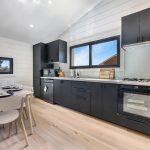 Kitchen of luxury retreat Iceland