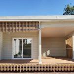 Modern house with large verandah NSW