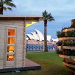 Temporary tiny house near Sydney Opera House built for IKEA